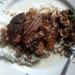 Super Simple Slow Cooker Fall Apart Roast Beef