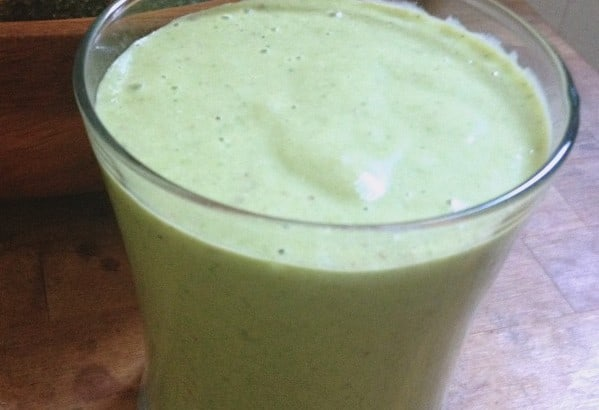 emerald green smoothie