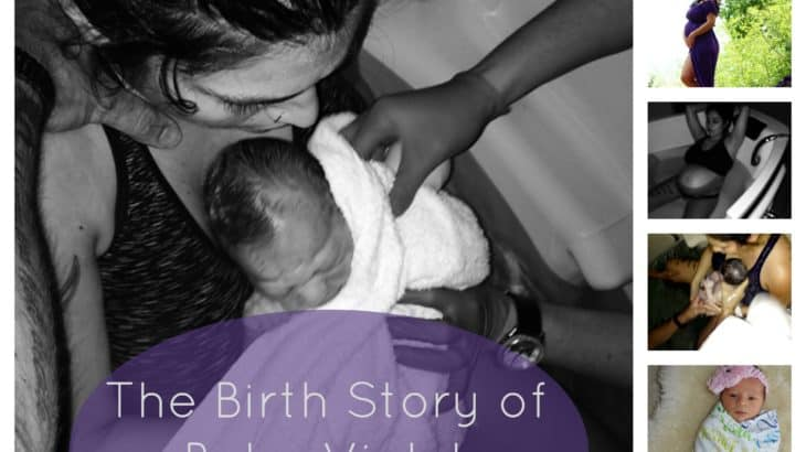 Read this inspirational birth story and learn how one mother overcame fear of childbirth using prayer and affirmations to have a natural water birth.