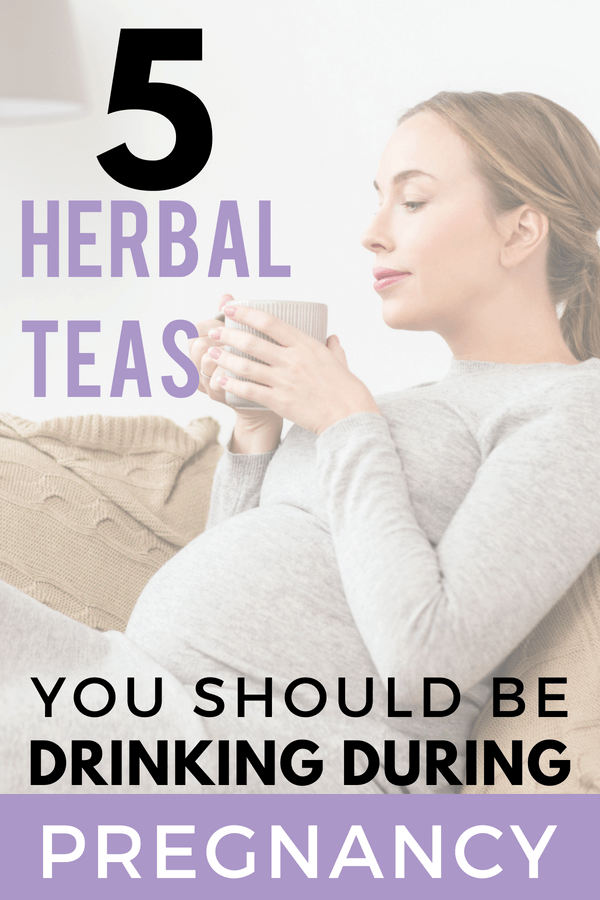The best herbal teas for pregnancy that every mom should be drinking! Boost your pregnancy diet with the benefits of herbs like red raspberry leaf, nettle tea and dandelion. Relieve early pregnancy symptoms and prep your body for labor! #pregnancy