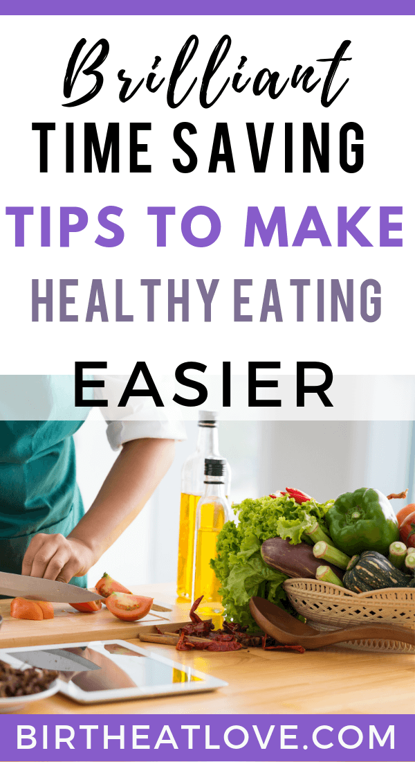 Make Mom life easier with these meal planning hacks to save time and energy. Tips to make healthy eating easier! #momlife #mealplanninghacks
