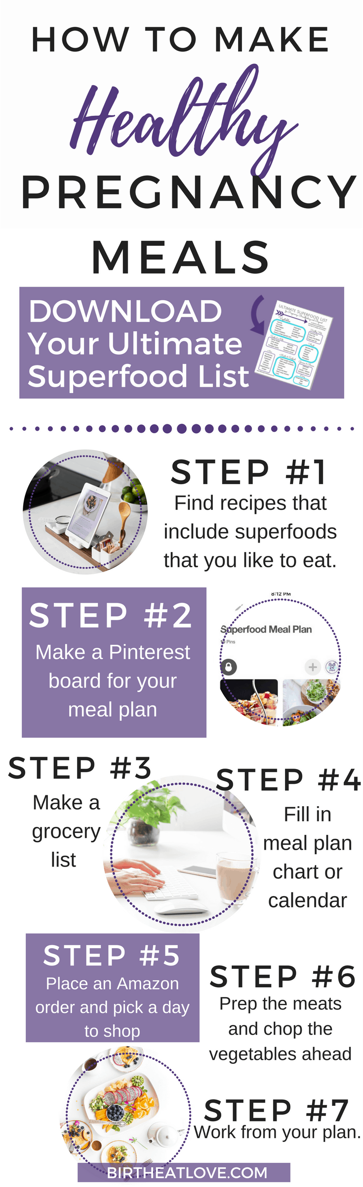 7 steps to planning healthy pregnancy meals using pinterest birth this post is going to walk you through setting up an easy meal planning system for forumfinder Image collections
