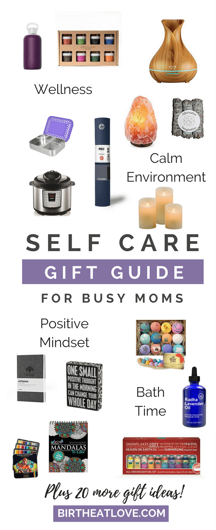 Gift ideas for busy moms. Treat yourself to some self care. Self care ideas under $20. #selfcare #momlife