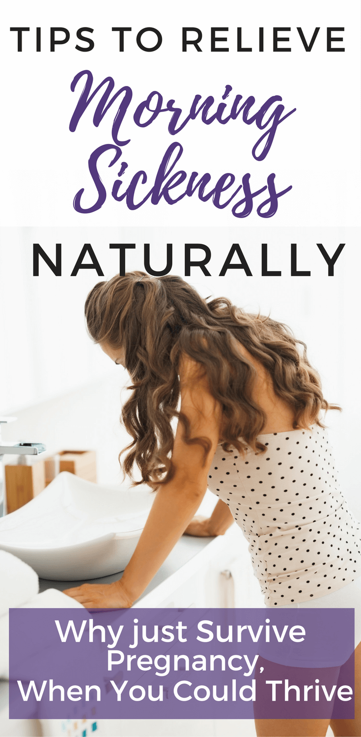 Natural morning sickness relief for nausea