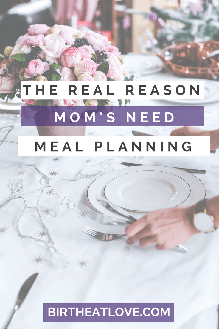 Meal planning and cooking are about so much more than saving time and money! Learn the real reason busy moms should be meal planning. Psst...it's not about saving time and money!