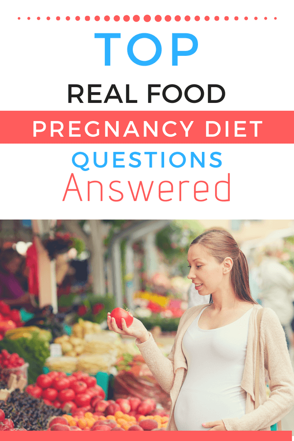 Answers to your top real food pregnancy questions from nutritionist Lily Nichols.