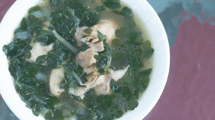 Filipino soup for breastfeeding that will help increase milk supply.
