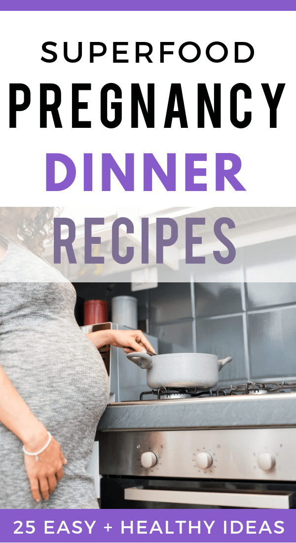 Healthy pregnancy dinner recipes. Easy and healthy recipes. Clean eating, gluten free, paleo. slow cooker and vegetarian meal ideas for pregnant moms.  #pregnancy