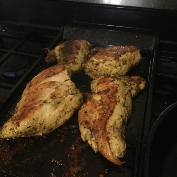 Batch cooking - cook grilled chicken for quick and easy meals during the week.