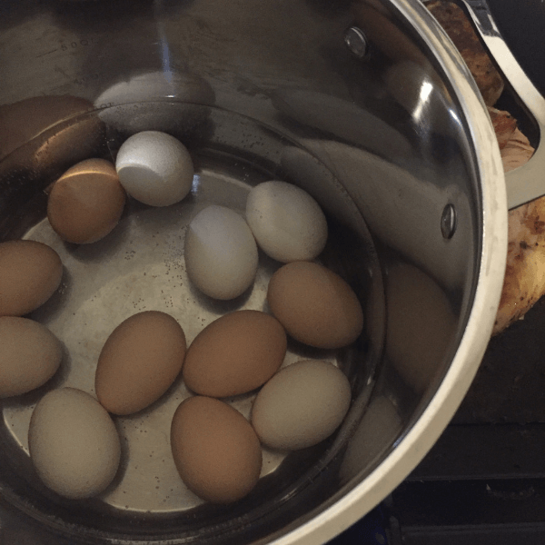 Batch cooking - boil a dozen eggs for easy snacks, or added protein for lunch.