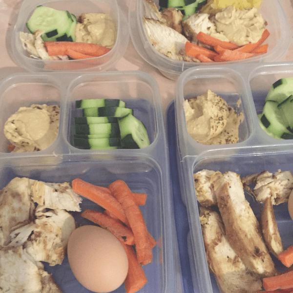 Batch cooking - lunches prepped for the week!