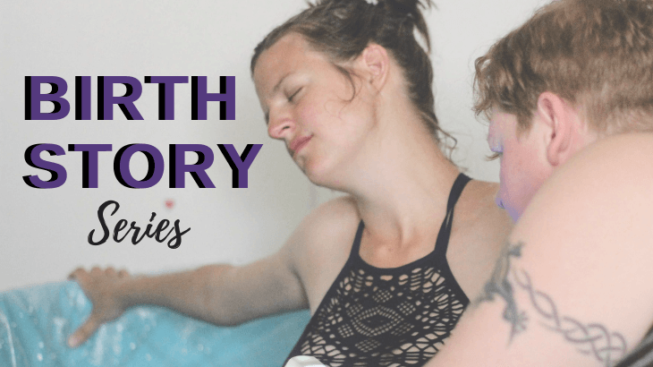 Birth stories blog series - Baby Hazel
