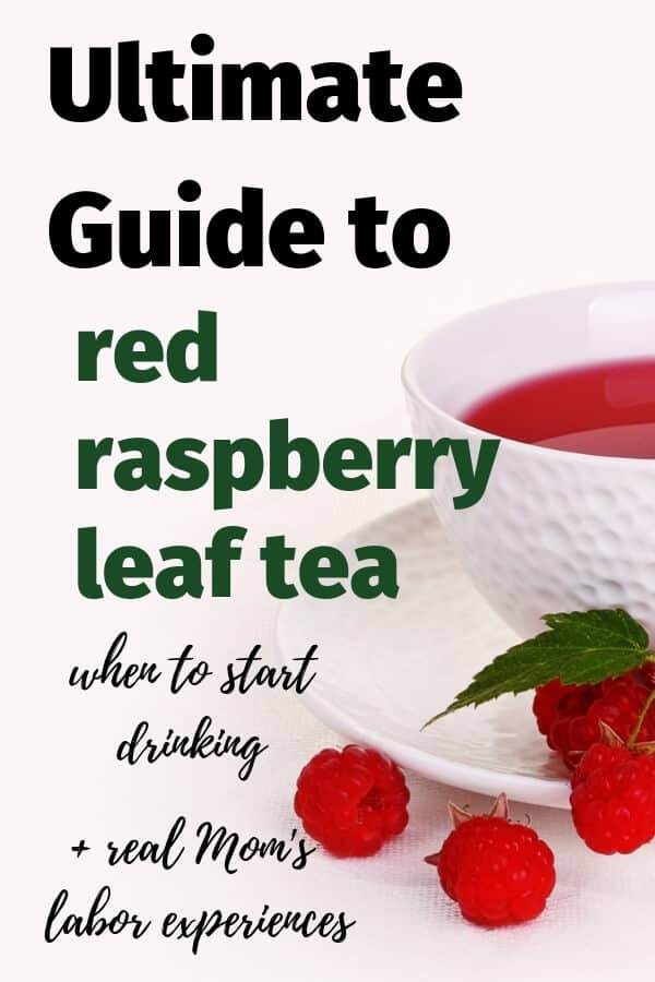 Guide to drinking red raspberry leaf tea while pregnant