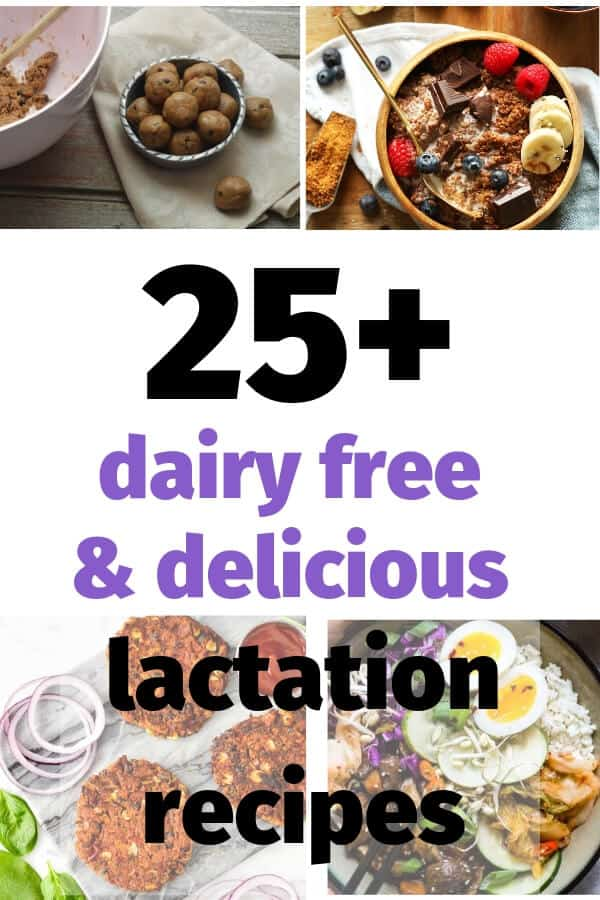 Best lactation recipes for making more breast milk.